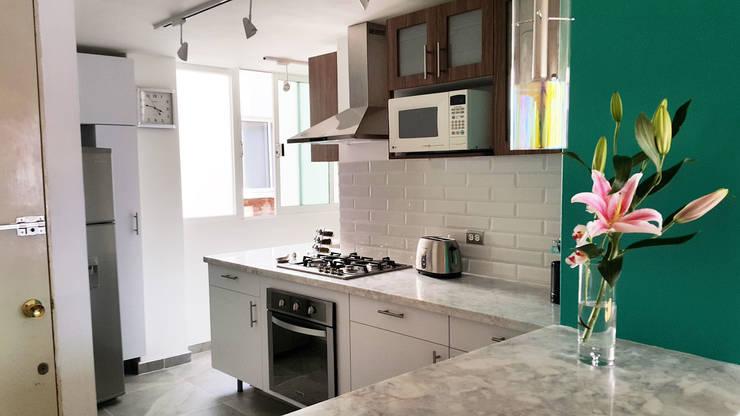 廚房 by Diseño Distrito Federal