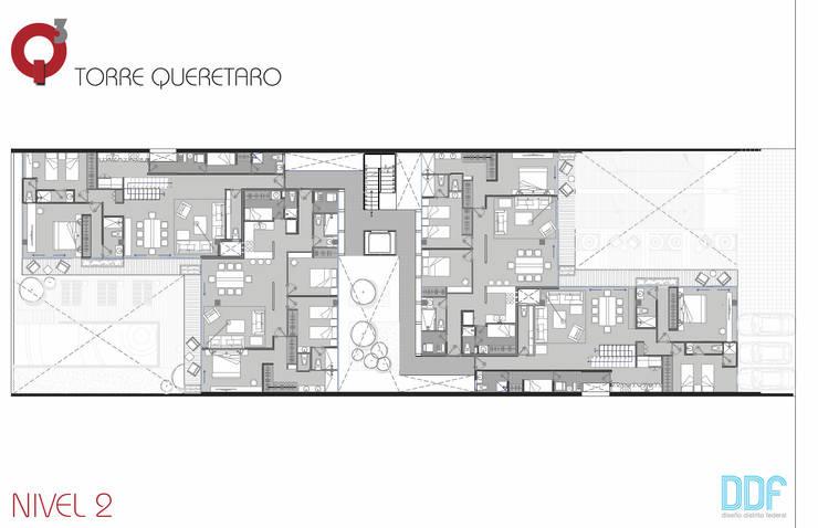 Querétaro Q3:  de estilo  por Diseño Distrito Federal