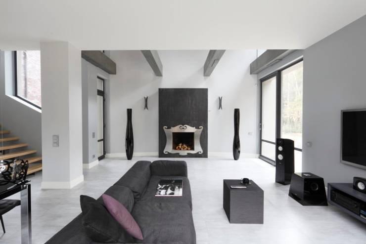 Elegant Laconism: styl , w kategorii Salon zaprojektowany przez Fotograf wnetrz  Dymitr Kalasznikow