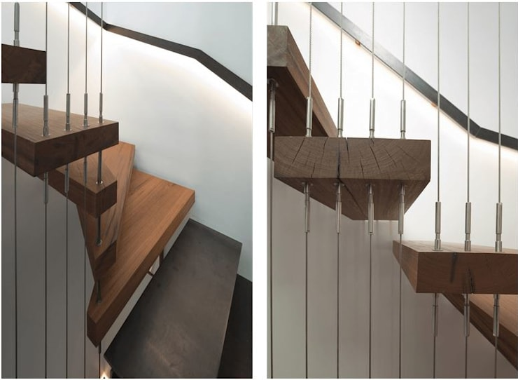 Corridor & hallway by Sam Crawford Architects