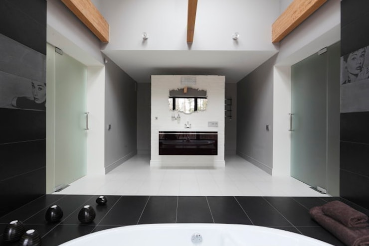 Elegant Laconism: styl , w kategorii Łazienka zaprojektowany przez Fotograf wnetrz  Dymitr Kalasznikow