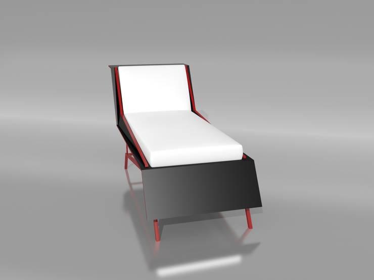 Salones de estilo minimalista de timothée tibi AID