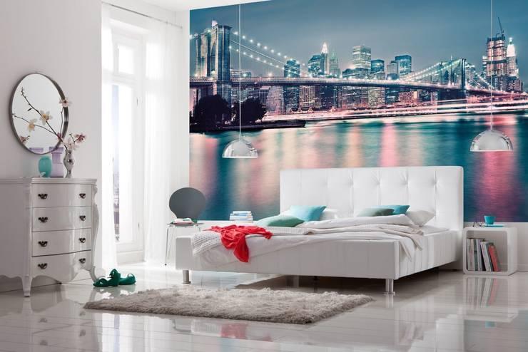 Paredes y pisos de estilo  por Posters.nl