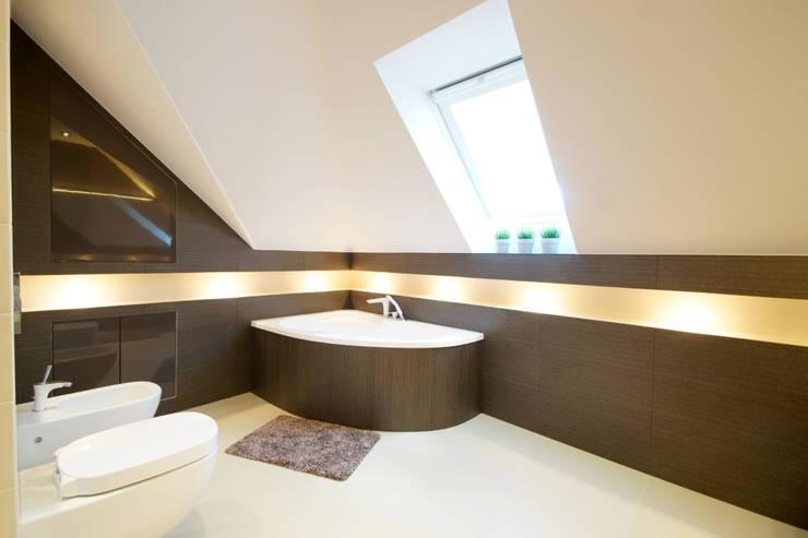 Łazienka: styl , w kategorii Łazienka zaprojektowany przez ArtDecoprojekt