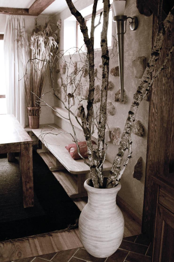 dom: styl , w kategorii Jadalnia zaprojektowany przez DF Interior