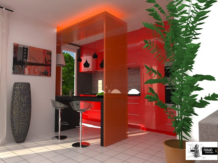 Cucina in stile  di nowo creation d'espaces