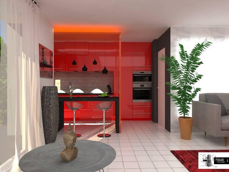 cuisine pétillante: Cuisine de style  par nowo creation d'espaces