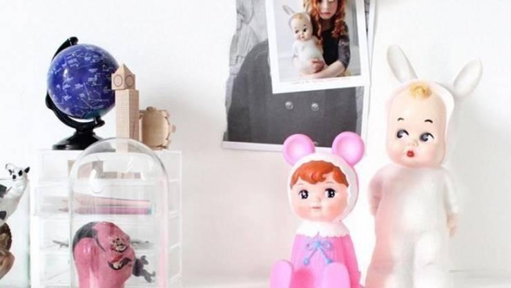 Sfeerverlichting op de meisjeskamer:  Kinderkamer door Girlslabel