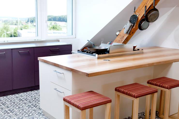 Projekty,  Kuchnia zaprojektowane przez   o.ho   die möbelschreinerei