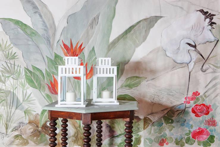 Paesaggio asiatico: Casa in stile  di RobinArtStudio
