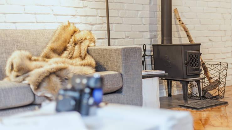Salon - koza: styl , w kategorii Salon zaprojektowany przez DoMilimetra