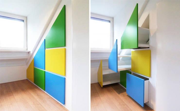 de estilo  por WEBERontwerpt | architectenbureau, Moderno