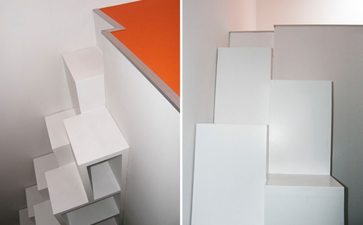 Cuartos infantiles de estilo  por WEBERontwerpt | architectenbureau, Moderno