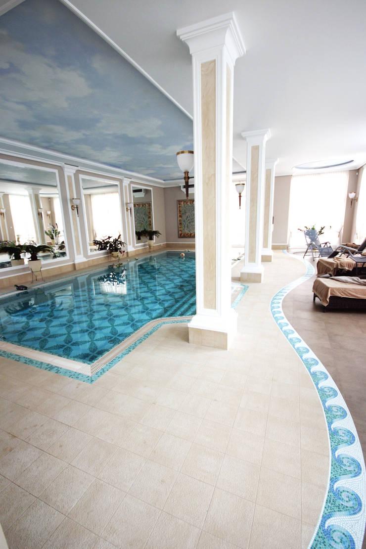 basen: styl , w kategorii Basen zaprojektowany przez JOL-wnętrza,