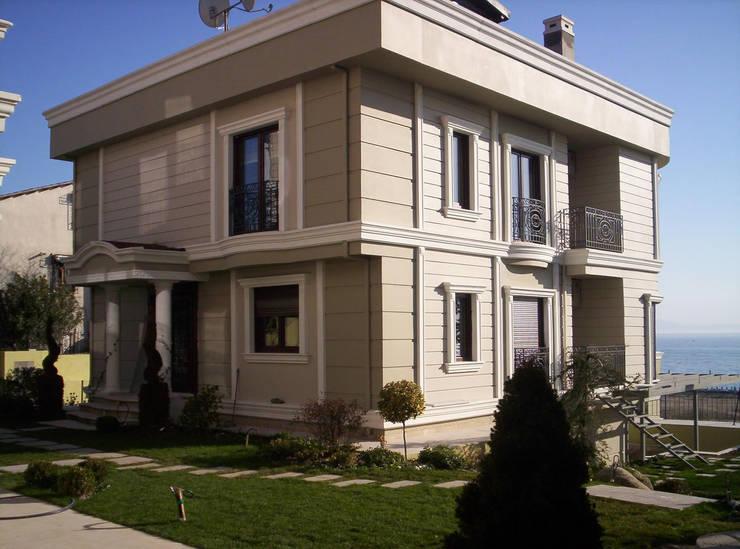 Projekty,  Domy zaprojektowane przez HEBART MİMARLIK DEKORASYON HZMT.LTD.ŞTİ.