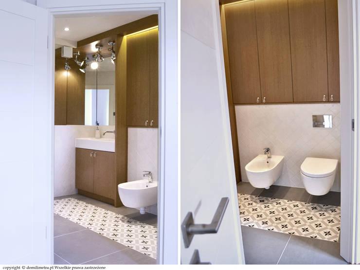 Łazienka - wejście: styl , w kategorii Łazienka zaprojektowany przez DoMilimetra