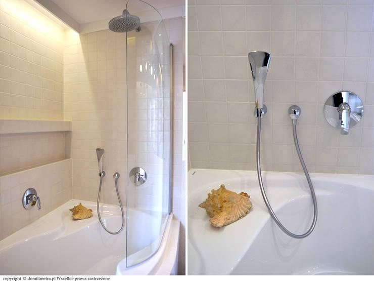 Łazienka - wanna: styl , w kategorii Łazienka zaprojektowany przez DoMilimetra