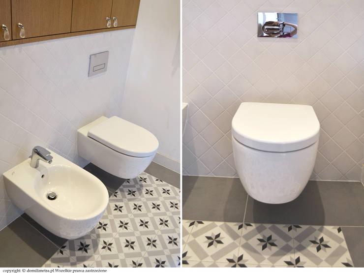Łazienka - ceramika: styl , w kategorii Łazienka zaprojektowany przez DoMilimetra
