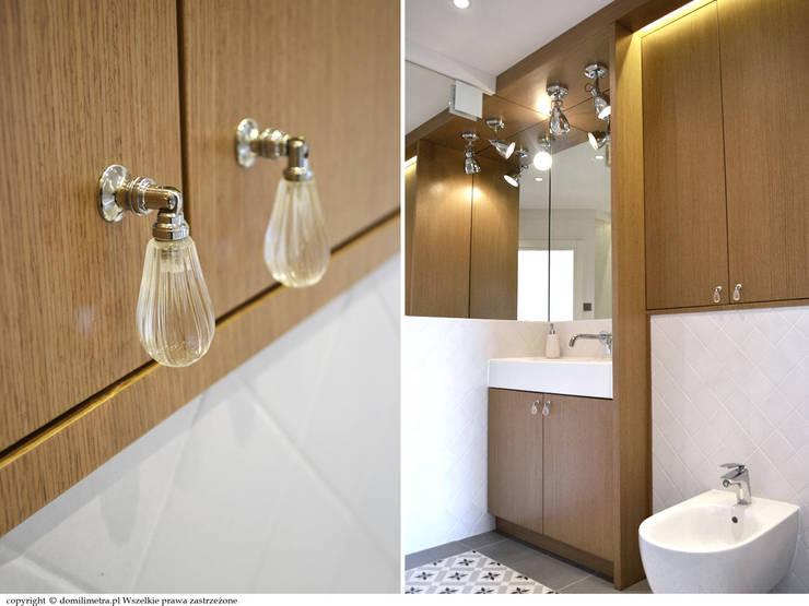 łazienka - zabudowa pod wymiar: styl , w kategorii Łazienka zaprojektowany przez DoMilimetra