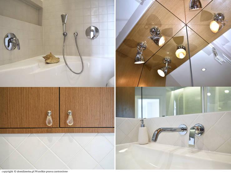 Łazienka - detal: styl , w kategorii Łazienka zaprojektowany przez DoMilimetra