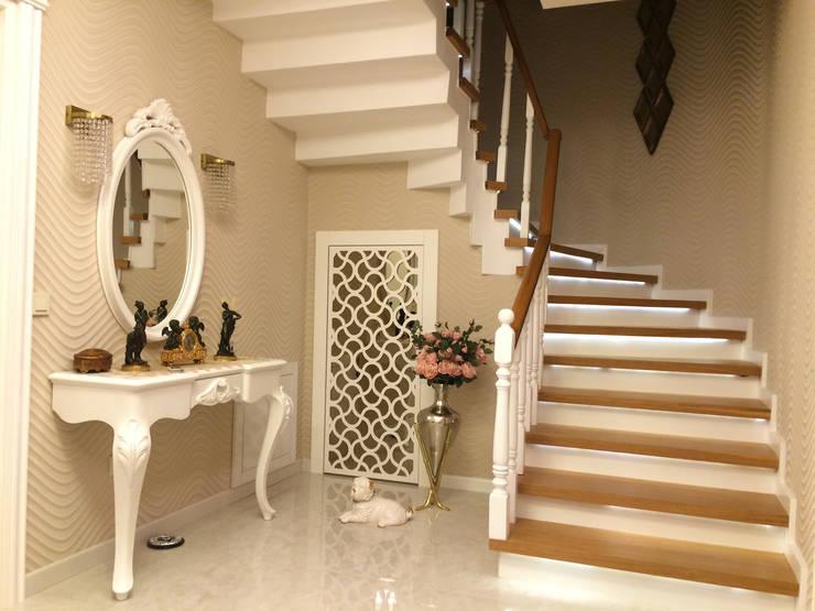 Corridor & hallway by HEBART MİMARLIK DEKORASYON HZMT.LTD.ŞTİ.