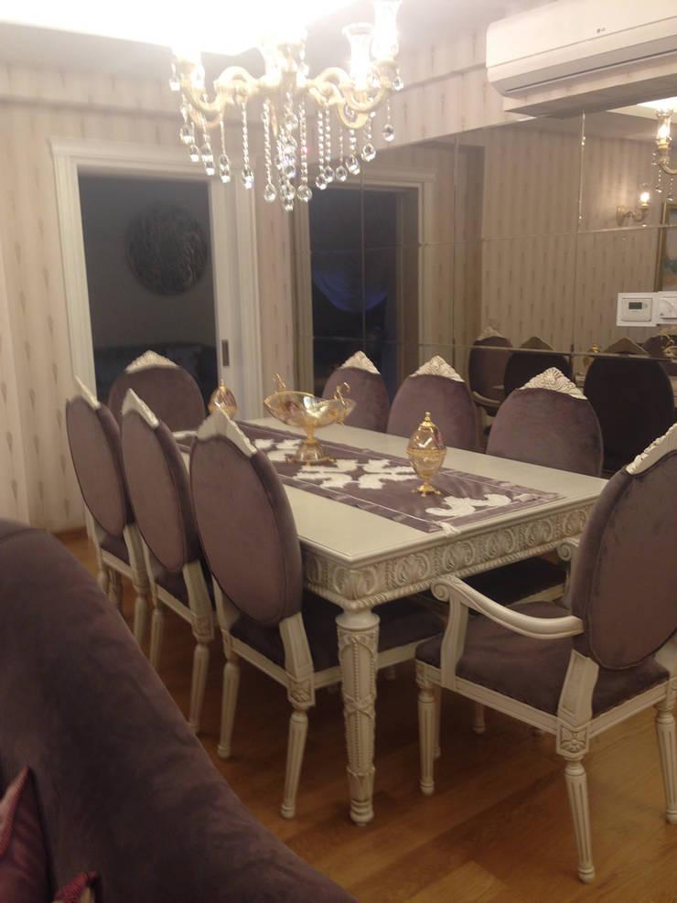 HEBART MİMARLIK DEKORASYON HZMT.LTD.ŞTİ. – Yasar Polat Evi:  tarz Yemek Odası
