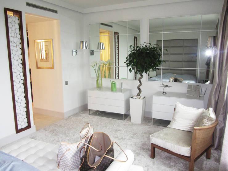 sypialnia: styl , w kategorii Sypialnia zaprojektowany przez JOL-wnętrza