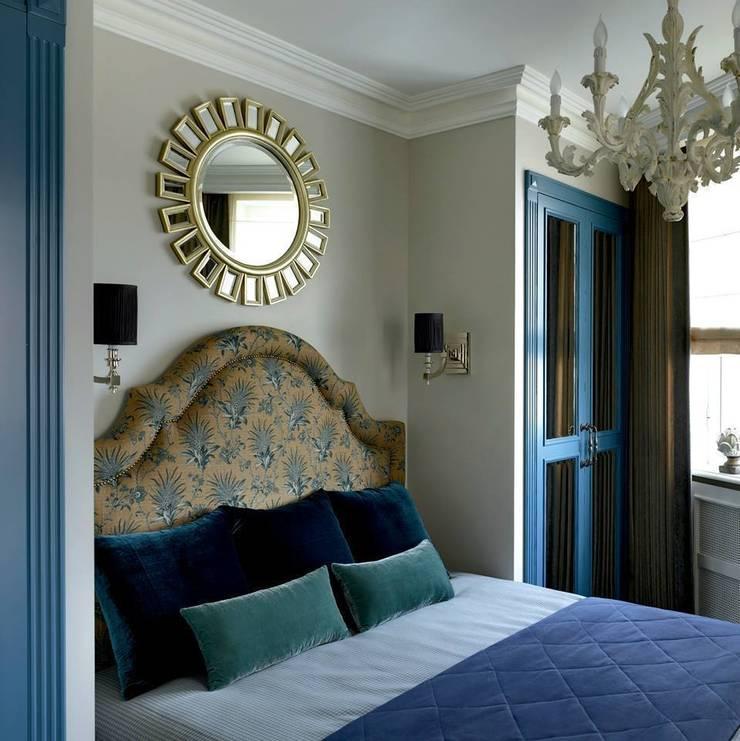 Современная Классика: Спальная комната  в . Автор – Лоффилаб