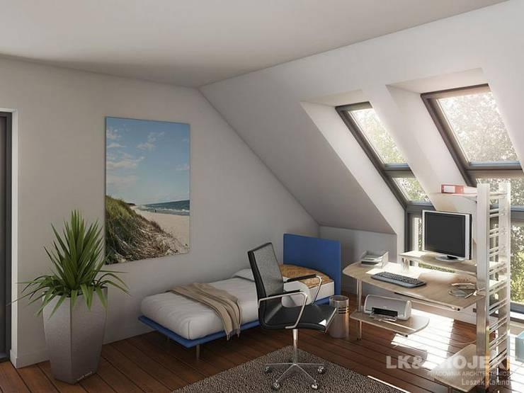 LK&684: styl , w kategorii Sypialnia zaprojektowany przez LK & Projekt Sp. z o.o.,Nowoczesny