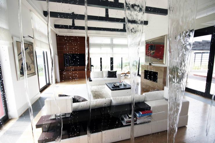 pokój dzienny: styl , w kategorii Salon zaprojektowany przez JOL-wnętrza