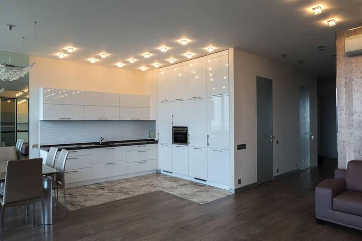 Квартира в ЖК Аэробус: Кухни в . Автор – JulyAlex