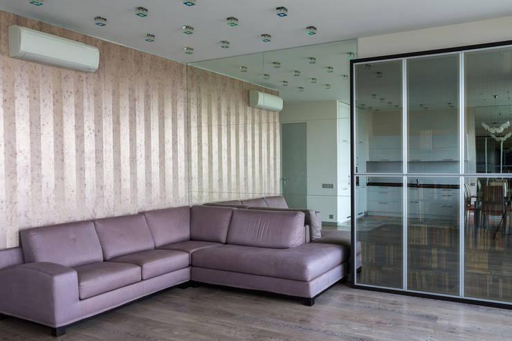 Квартира в ЖК Аэробус: Гостиная в . Автор – JulyAlex