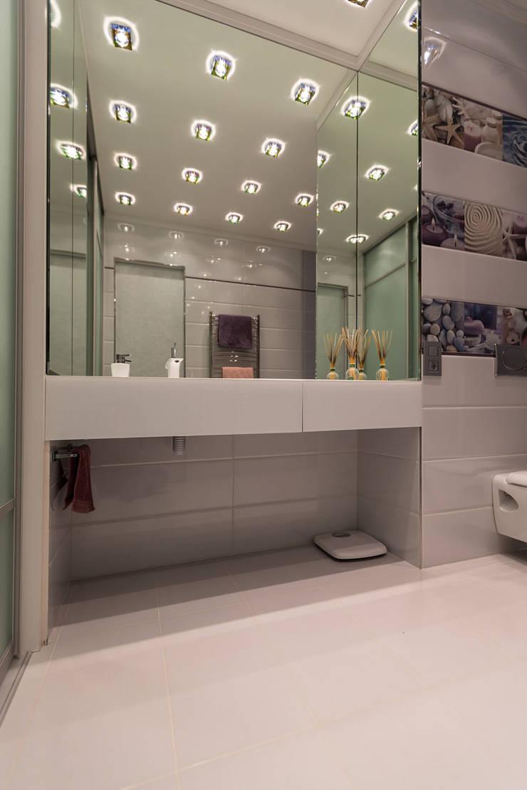 Квартира в ЖК Аэробус: Ванные комнаты в . Автор – JulyAlex