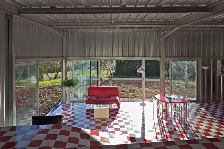 Casas modernas por HERARD & DA COSTA architectes