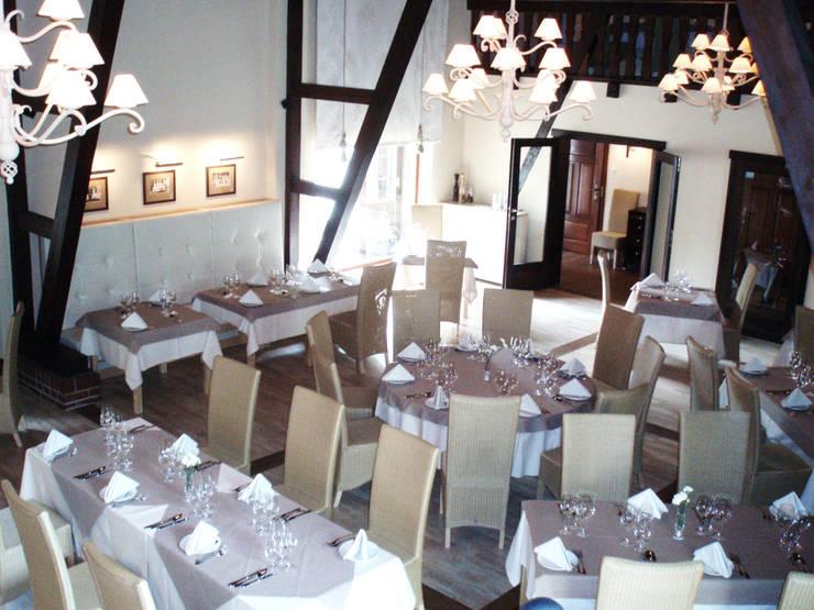 restauracja: styl , w kategorii Jadalnia zaprojektowany przez JOL-wnętrza