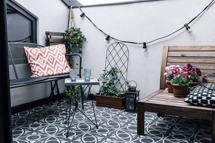 Mieszkanie Salwator, Kraków: styl , w kategorii Taras zaprojektowany przez Odwzorowanie