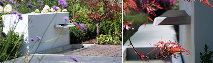 ogród horyzontalny: styl , w kategorii Ogród zaprojektowany przez SPRING architektura krajobrazu