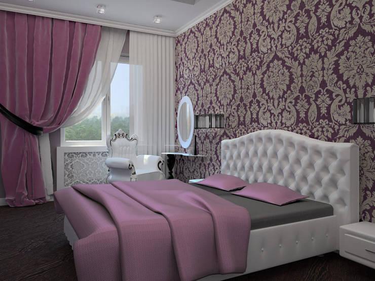 3-х комнатная квартира г.Краснодар: Спальни в . Автор – K&D