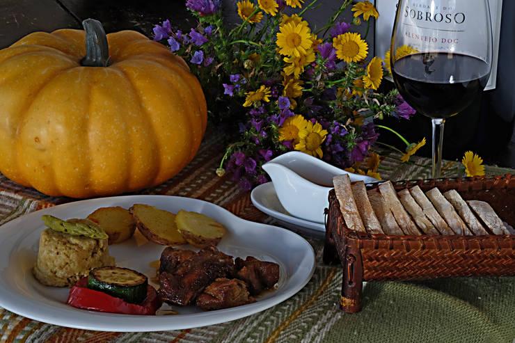 Gastronomia Alentejana: Salas de jantar  por A.P.E.L