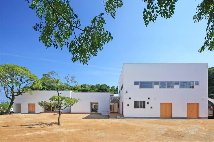天神の森 きらら保育園: bound-designが手掛けた学校です。,