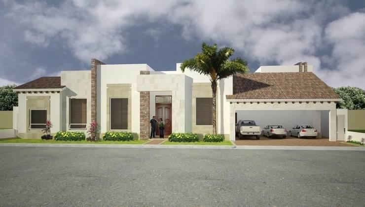 Casas Residenciales: Casas de estilo  por CONDER S.A. de C.V.