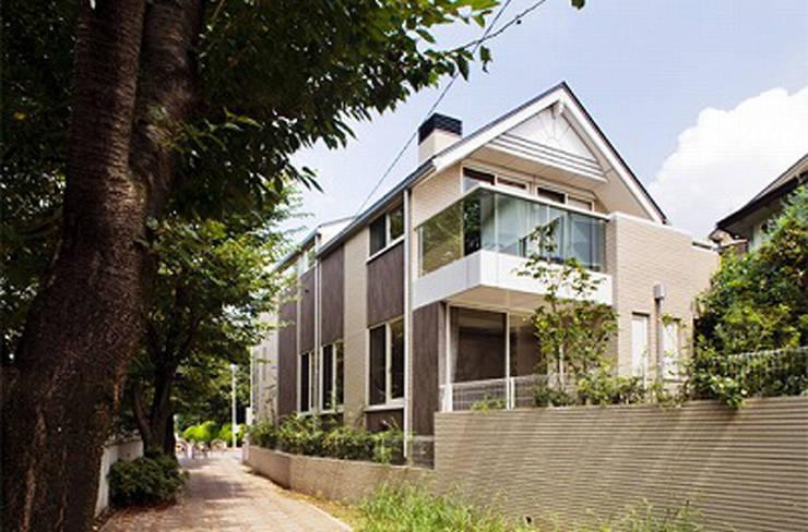 外観2: 株式会社 間瀬己代治設計事務所が手掛けた家です。