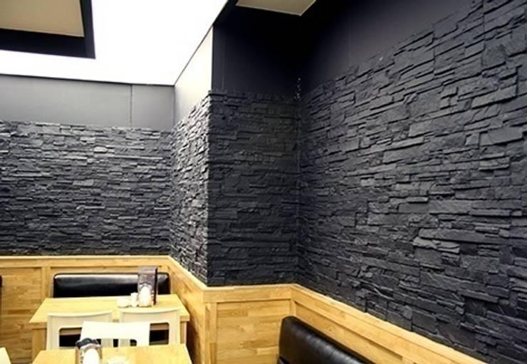 Vardek Varlıbaş Dekorasyon – Fiber Taş, Tuğla, Ahşap Duvar Panelleri:  tarz Duvarlar, Modern