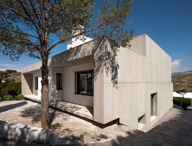 Casas de estilo  por ariasrecalde taller de arquitectura