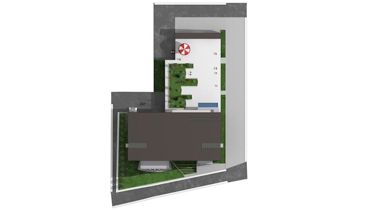 BATUBA Mimarlık Restorasyon Danışmanlık  – GAZİOSMANPAŞA KÜLTÜR MERKEZİ: modern tarz , Modern