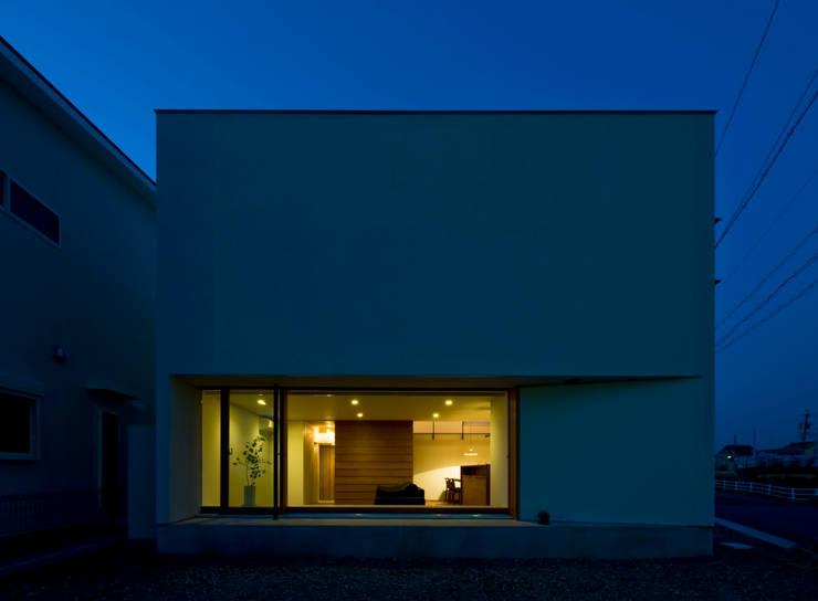 Huizen door 浦瀬建築設計事務所