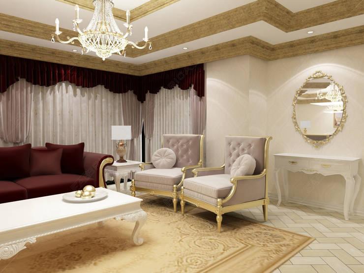Fabbrica Mobilya – Özel Ev Tasarımı:  tarz Oturma Odası