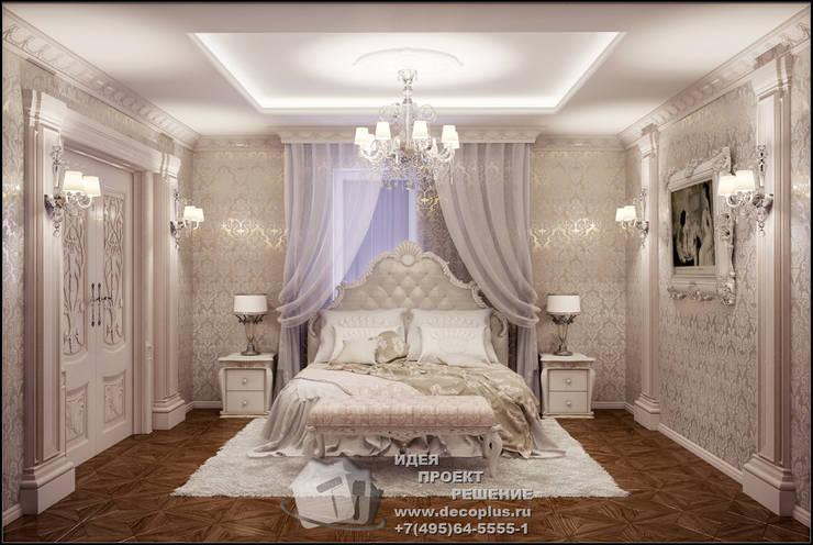 Фото интерьера классической спальни: Спальни в . Автор – Бюро домашних интерьеров