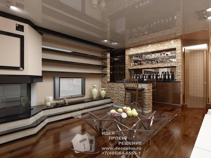 Дизайн холла в доме: Гостиная в . Автор – Бюро домашних интерьеров