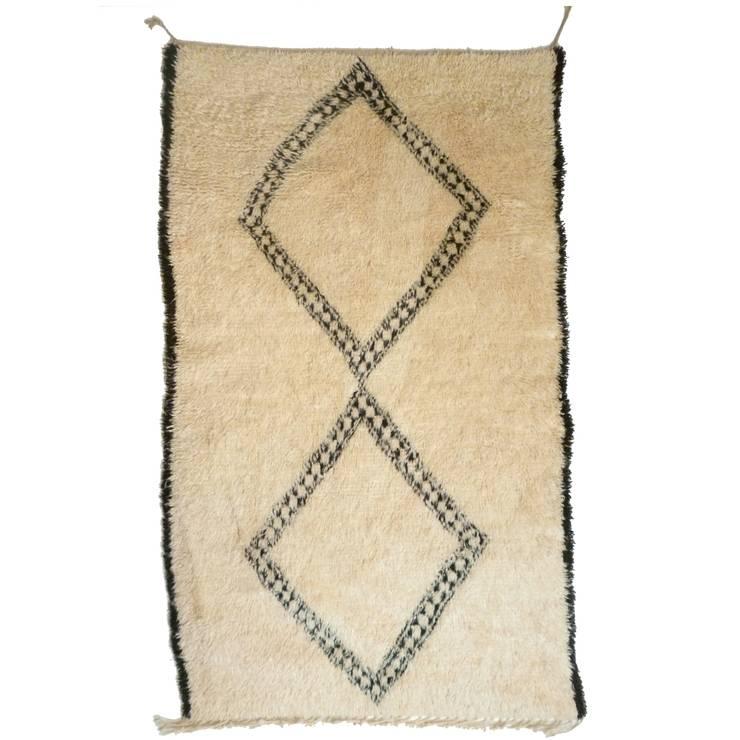 Beni Ourain Nomaden Teppich aus Marokko:  Schlafzimmer von homify